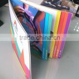 wholesale custom design brochure/manual printing