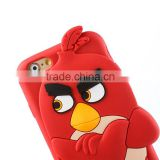 Red bird silicon phone case for huawei,cartoon silicon phone case for huawei,cheap silicon phone case for huawei