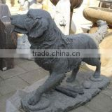 life size dog statues, marble statue (customized accept)