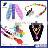 Necklace Jewellery Nursing for Mom Silicone Baby Teething Breastfeeding Pendant