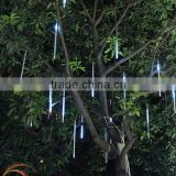 Decorative tree rain light,led meteor tube outdoor chrismas decoration led meteor light                                                                         Quality Choice