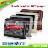 Hot Sale In Alibaba 9 inch portable car dvd player back seat with osd Botton