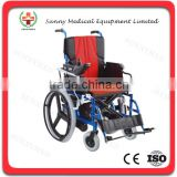SY-R105 cheap Lightweight Manual & Electric Intelligent Type power wheelchair