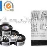 LC1 and SCF of hot stamp ribbon