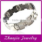 2015 Fashion Wholesale 316L Stainless Steel Jewelry Bio Magnetic Bracelet Bangle With Excellent Quality