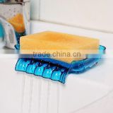 High quality Candy Color Sucker Bathroom Draining Soap Box /Kitchen Sink Sponge Drainage kitchen tool