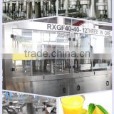 mango juice filling machinery /juice liquid filler/juice packing line/small scale juice fillings