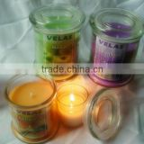 Romantic natural fragrance soy wax candle vegetable soy candle