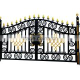 2015 decorative garden furniture cast aluminium gates garden furniture