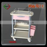 NFM60 ABS Medical Cleaning hospitality trolley, Nursing Trolley