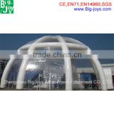 Customized PVC clear inflatable lawn tent, inflatable transparent tent,inflatable camping bubble tent for sale
