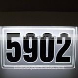 DIY LED House Address Plaque Kit With Good Price