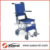 Mini foldable portable aluminum wheelchair