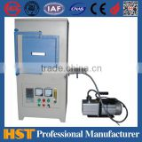 Laboratory High temperature muffle furnace HS-1600A electric Atmosphere vacuum for melting and sintering