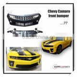 Hot sale ! chevy Camaro front bumper fit for 10-13y chevy Camaro ZL1 Conversion Bumper Cover Grille Projector DRL Body Kit