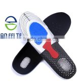 2015 New Product Support Full Foot Orthotic Sports Silicone insoles, Adjustable Silicone Insoles