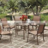 New Arrivel Patio Furniture Mesh Fabric Dining Set (BZ-DT007)