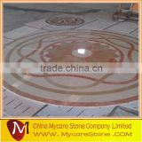 Popular design marble pattern water jet marble design