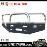 car accessory front 4x4 bull bar with Rolled Steel FOR PAJERO