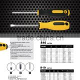 Free sample hand tools manufacturer cordless PH0/Ph1/PH2 screwdriver/Double end reversible screwdriver with magnetic flatted/cro