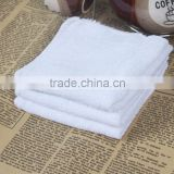China Factory 21S Disposable Cotton Square Hand Towel Hotel Hand Towel