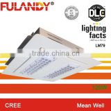 Fulandy hot sale!! 30 leds module(double) LED canopy(gas station)lights 120W(ROUTINE) UL DLC CE RoHS