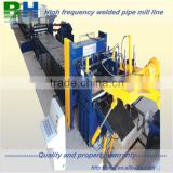 Welded pipe production line slitting saw cutter