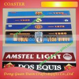 Wholesale PVC Bar Mat custom rubber branded beer bar Runner