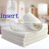 Wholesale Promotion Baby Microfiber 100% microfiber Baby Cloth Diaper Nappies inserts