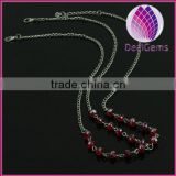 whole sale christmas gift alloy chain,acrylic beads indian hair jewelry,head accessory