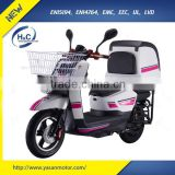 1500W(DC) Motor Lithium battery powered Pizza delivery electric moped with pedals
