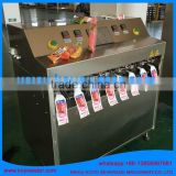 formed or shaped white grape juice concentrate pouch/tubes filling and sealing packaging machine