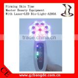 Firming skin time master beauty equipment with Laser+LED Bio-Light -A280A