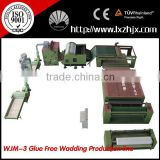 Hot Sale Glue Free Wadding Electricity Oven Production Line WJM-3