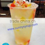 Fruit coconut Jelly & nata de coco for bubble tea drinks