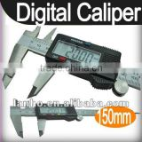 "150mm 15cm 6"" Electronic Digital LCD Steel Vernier Caliper Gauge Micrometer Tool"