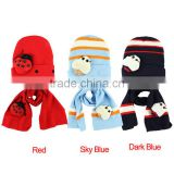 Amazing Fashion Beatles baby hat cap scarf twinset Cotton Beatles hat children hat