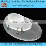 Customized acrylic fashion pear jewelry display set,Fashionable Jewelry Display Manufacturer,Plexiglass jewelry stand