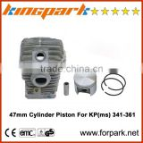 Proffessional Garden Tools Kingpark 341-361 Piston 47mm Cylinder Kits For chainsaw cylinder kits
