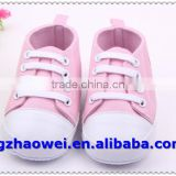 Hot sale casual sport baby canvas shoes