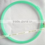 China wholesale colorful embroidery frames plastic hoops frosted embroidery hoop craft hoops cross stitch 15cm