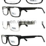 Good quality wooden eyewear stocks acetate optical frame