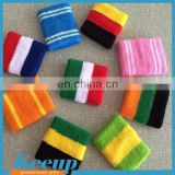 Custom promotional rainbow tennis elastic wristband