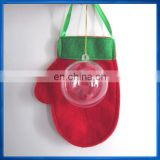 6cm Clear plastic bauble christmas tree decoration opening fillable ball