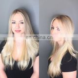100% european hair double sided hand made tape hair extension