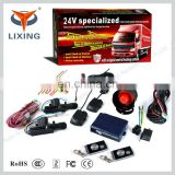 Lixing Quality car alarm system remote engine start keyless entry &Emergency Warning/Car locate&Automatic Centrol Lock
