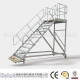 Portable Platform Ladders Industrial with Handrails