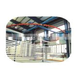 Automatic color powder coating line for door and window