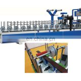 Hot sale cold glue wooden skirting line Profile wrapping pvc machine