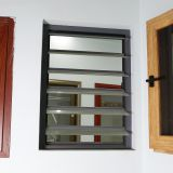 Wooden Color Aluminum Profile Windows and Glass sliding window